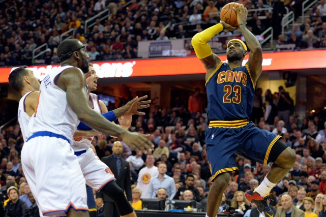À son premier match avec les Cavaliers de... (Photo David Richard, USA Today Sports)