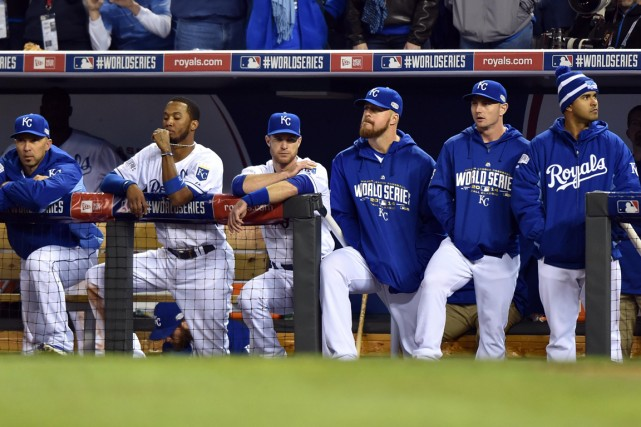 Les Royals de Kansas City ont connu un... (Photo Peter G. Aiken, USA Today Sports)