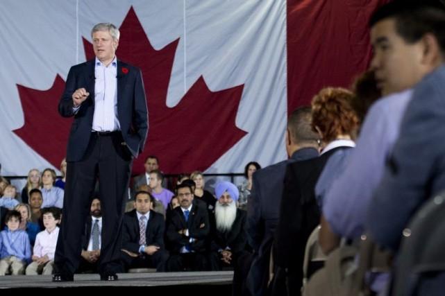 Le premier ministre Stepher Harper a annoncé jeudi... (La Presse Canadienne, Nathan Denette)