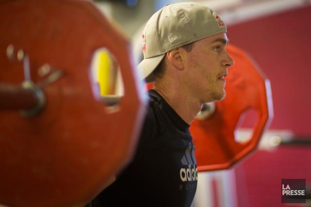 Erik Guay estime que son objectif de reprendre... (Photo André Pichette, La Presse)