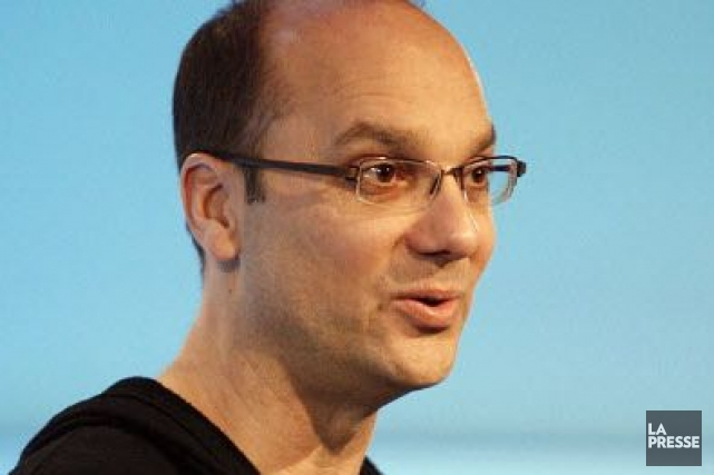 Andy Rubin... (Photo d'archives, La Presse)