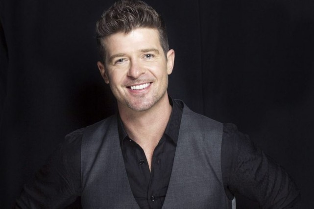Robin Thicke... (Photo: AP)