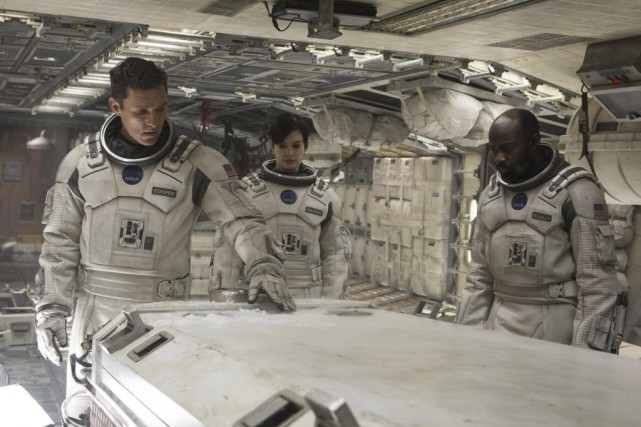 Matthew McConaughey, Anne Hathaway et David Gyasi dans Interstellar... (Photo: fournie par Paramount Pictures)