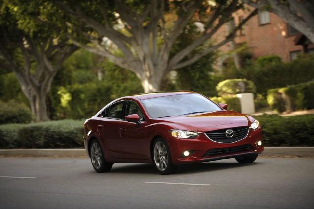 La Mazda6 pourrait être offerte en version coupé... (Photo fournie par Mazda)