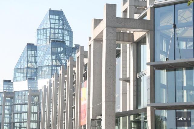 Le Musée des beaux-arts du Canada à Ottawa... (Archives, LeDroit)
