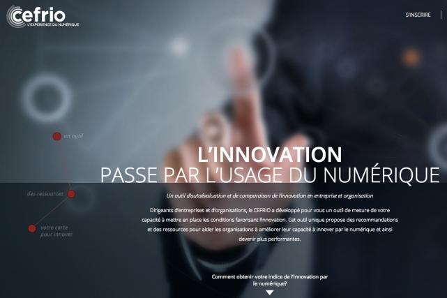 Les entreprises québécoises disposent maintenant d'un outil pour leur permettre... (Image tirée du site internet)