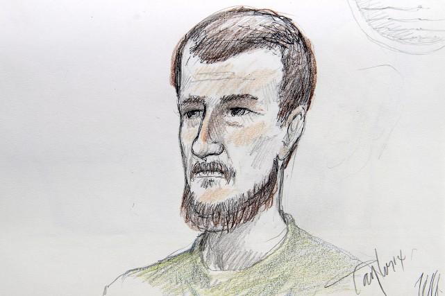 Justin Bourque, 24 ans, est l'auteur de la... (Illustration fournie par La Presse Canadienne)
