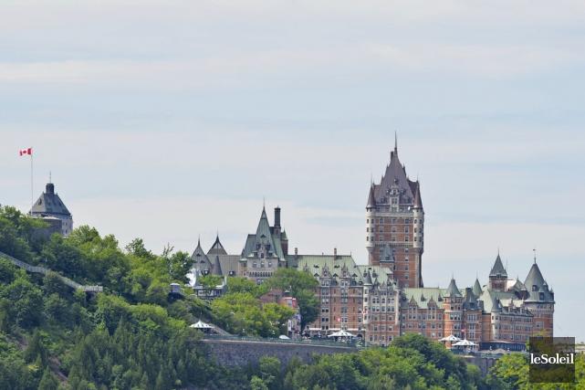 La ville de Québec.... (Photo Pascal Ratthé, Le Soleil)