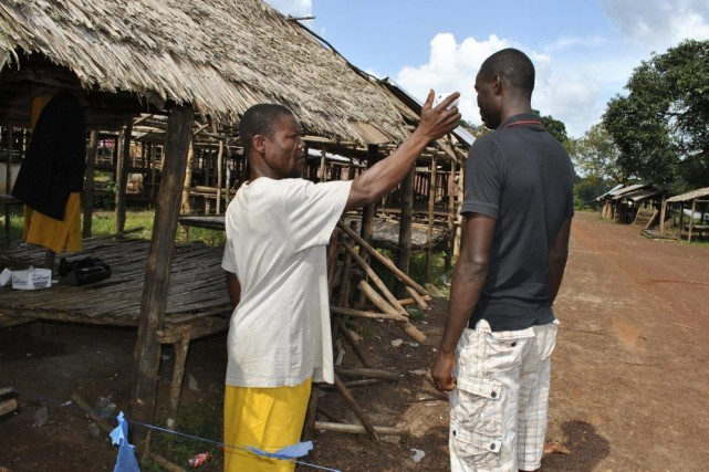 La Sierra Leone, la Guinée et le Liberia... (PHOTO James Giahyue, REUTERS / STRINGER)