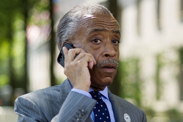 Al Sharpton... (Photo: archives AFP)