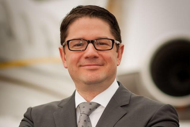 Éric Martel, président de Bombardier Avions d'affaires.... (Photo fournie par Bombardier)