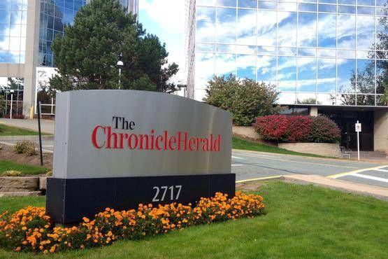 LeHalifax Chronicle Heralda annoncé vendredi la mise à pied de 20... (Photo Halifax Chronicle Herald)