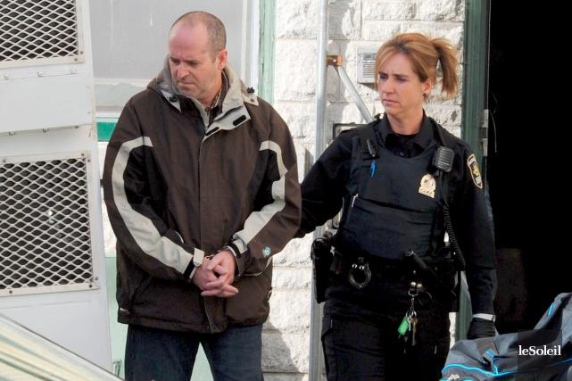 Jean-Marc Allard a été arrêté en octobre après... (Photothèque Le Soleil, Erick Labbé)