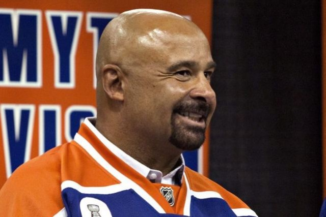 Grant Fuhr, ancien gardien des Oilers.... (Photo PC)