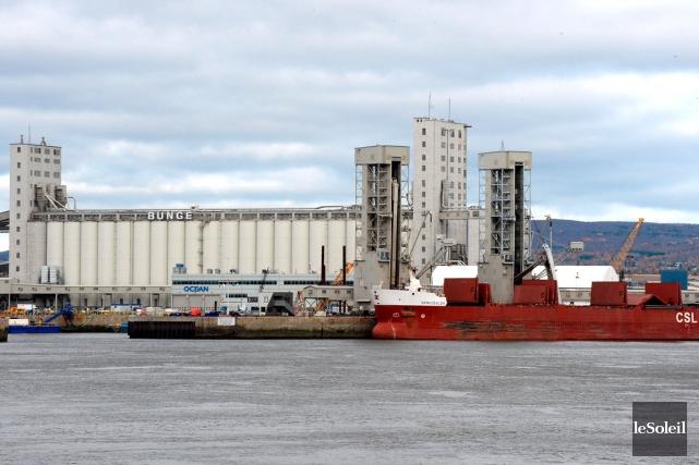 Le Port de Québec... (Le Soleil, Erick Labbé)