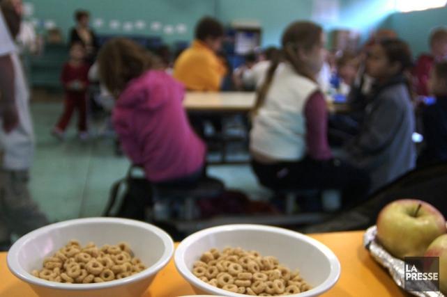 Le Club des petits déjeuners est maintenant implanté... (PHOTO IVANOH DEMERS, ARCHIVES LA PRESSE)