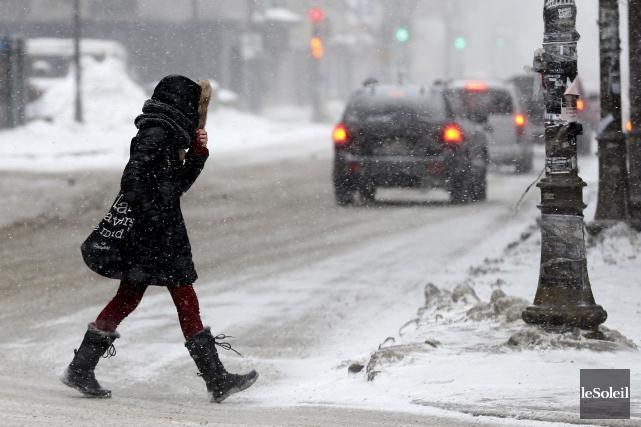 L'Est-du-Québec devrait subir sa première tempête de neige de la saison dès ce... (Photo Yan Doublet, Archives Le Soleil)