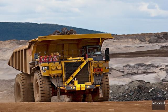 D'après Québec, les 17 projets miniers actuellement exploités... (Photothèque Le Soleil)
