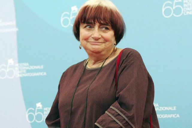 La cinéaste Agnès Varda... (Photo Archives AP)