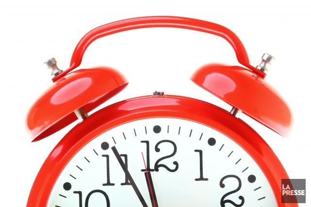 Les Québécois perd une heure de sommeil dans la nuit de samedi à dimanche,... (Photo Thinkstock)