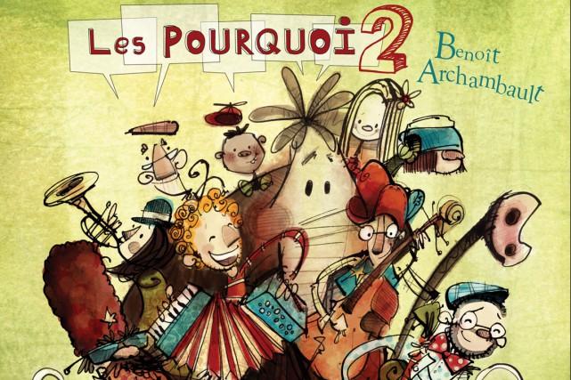 Benoît Archambault table sur le succès desPourquoi, opus 1, et ne s'en...