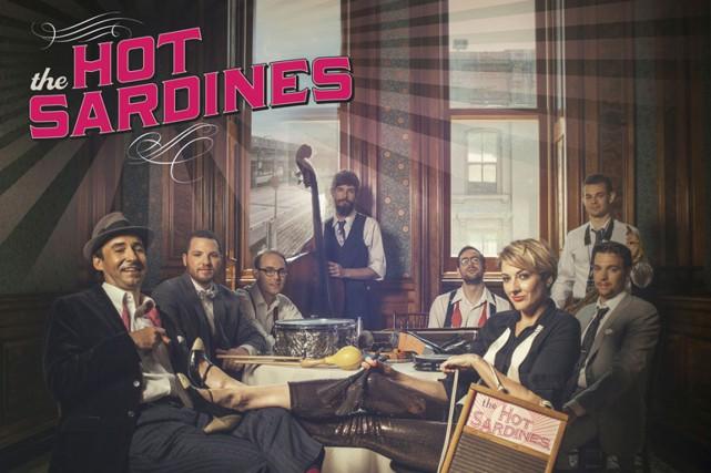 Retour vers le passé: comme si l'intention de départ des Hot Sardines était de...
