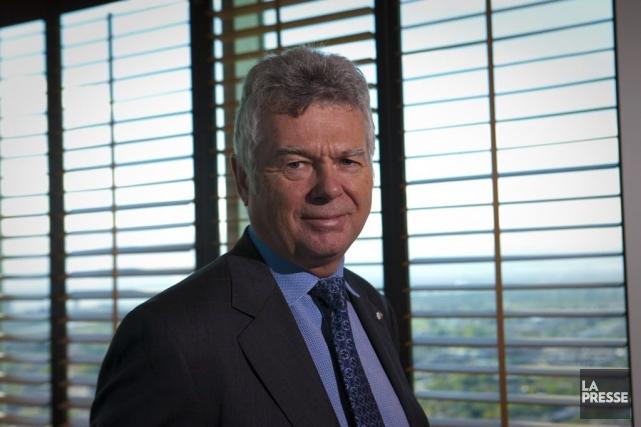 Charles Siroisa soumis aux journalistes que c'est la... (Photo La Presse, André Pichette)
