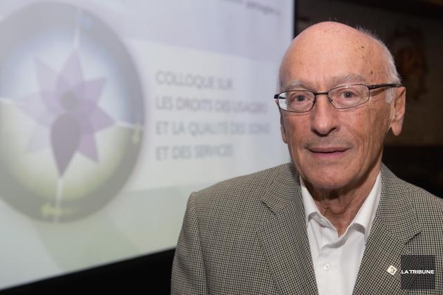 Le président du comité des usagers du CHUS,... (IMACOM, Claude Poulin)