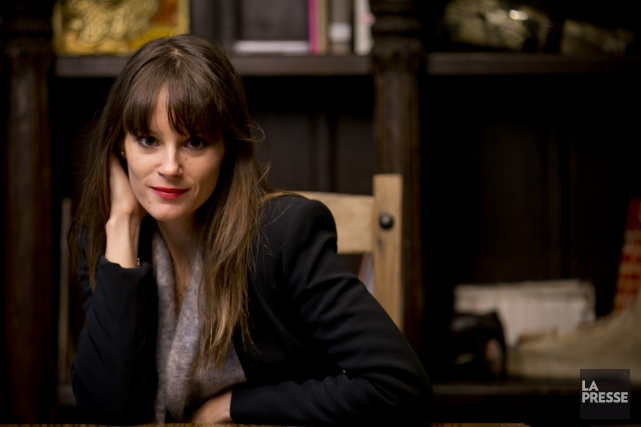 Stéphanie Lapointe... (La Presse, David Boily)