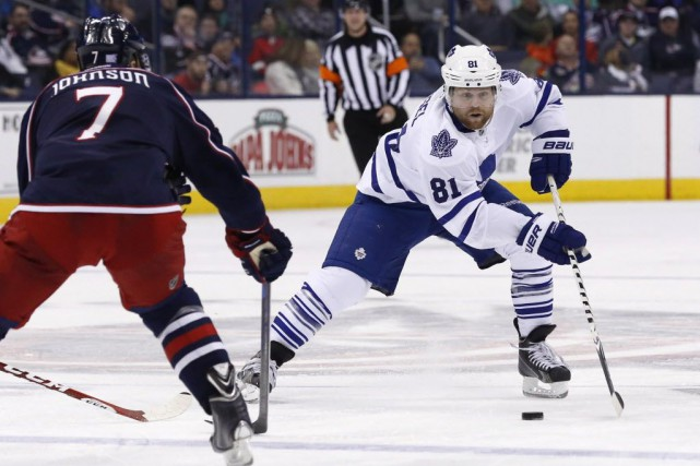 Les Maple Leafs de Toronto ont défait les... (Photo Aaron Doster/USA TODAY Sports)