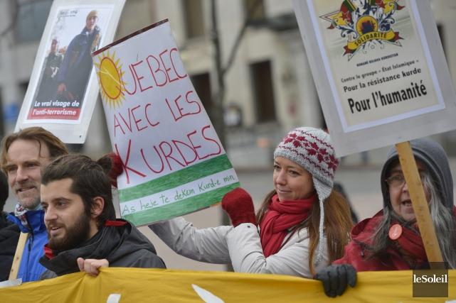 Un appel à la mobilisation mondiale avait été... (Le Soleil, Yan Doublet)