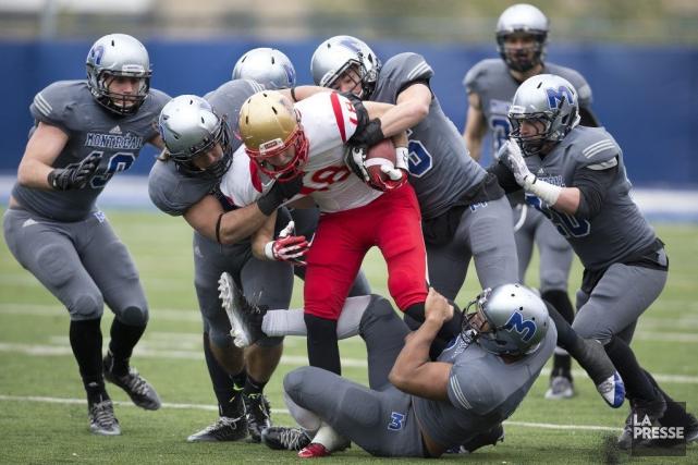 La défaite du Rouge et Or aux mains... (Photo Robert Skinner, La Presse)