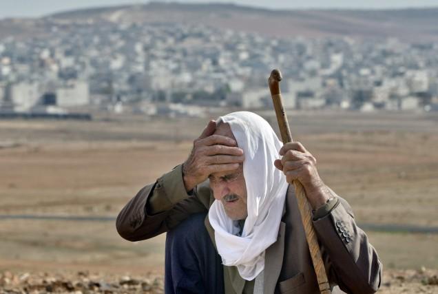 Des centaines de milliers de pèlerins chiites sont... (Photo Vadim Ghirda, AP)