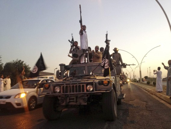 Desdjihadistes du groupe État islamique... (Photo Archives)