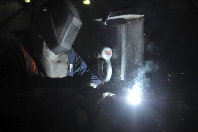 Le travail de production des pièces d'équipement devrait... ((Photo Rocket Lavoie))