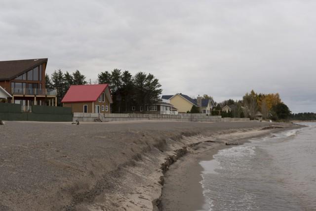 Les riverains du lac Saint-Jean devraient constater lors... ((Photo Frédéric Cantin))