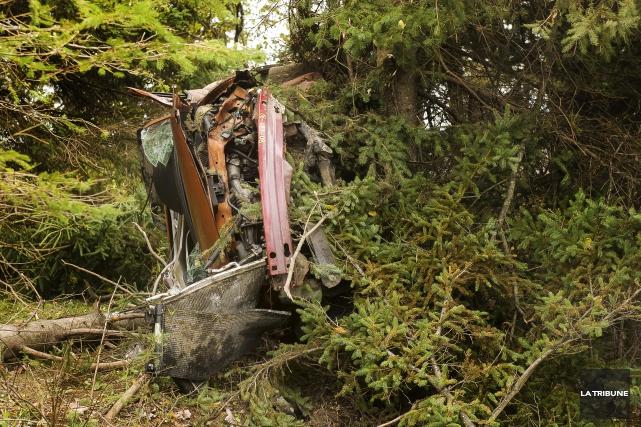 Deux jeunes hommes ont perdu la vie ce week-end sur la route206 à... (IMACOM, Jocelyn Riendeau)