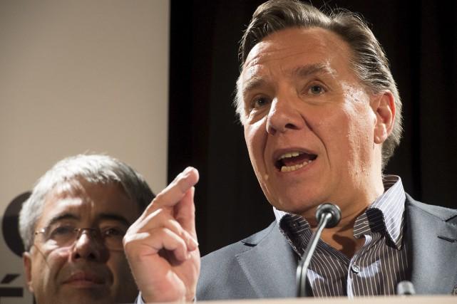 Le chef de la Coalition avenir Québec (CAQ) François Legault croit que le... (Stéphane Lessard)
