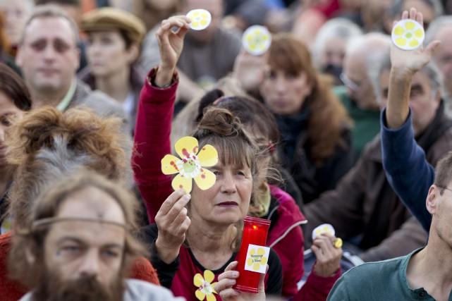 Le décès de Rémi Fraisse est le premier... (Photo KENZO TRIBOUILLARD, AFP)