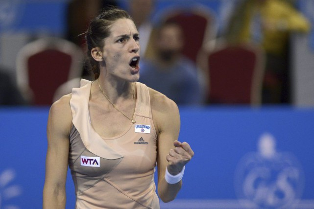 Andrea Petkovic... (PHOTO NIKOLAY DOYCHINOV, AFP)