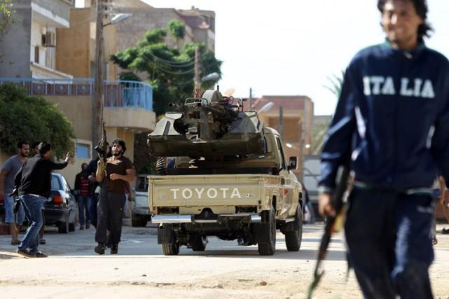 La Libye connaît une de ses pires vagues... (Photo: AFP)