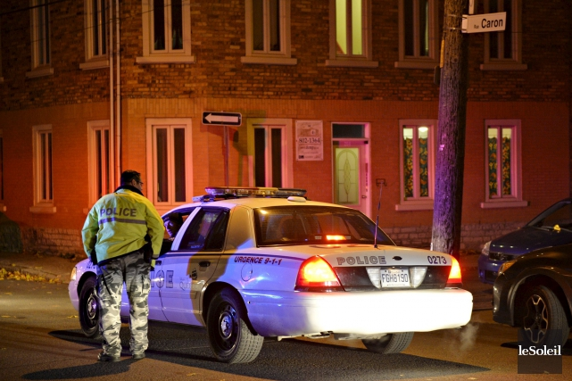 L'incident s'est produit au 338, rue Caron, dans... (Le Soleil, Pascal Ratthé)