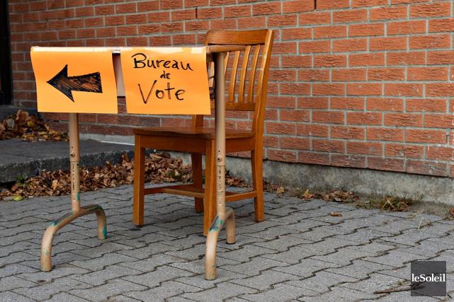 Le taux de participation aux élections scolaires a... (Photo Pascal Ratthé, Le Soleil)
