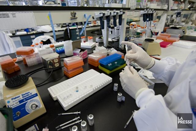 Les centres de recherche clinique du CHUM, du... (Photo: David Boily, La Presse)
