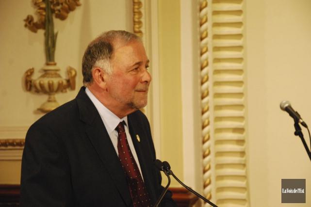 Le député de Brome-Missisquoi et ministre de l'Agriculture,... (photo Marie-Ève Martel, archives La Voix de l'Est)