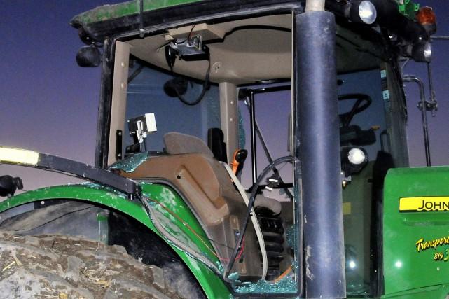 Un agriculteur de Saint-Bonaventure aurait été victime d'une... (Archives)