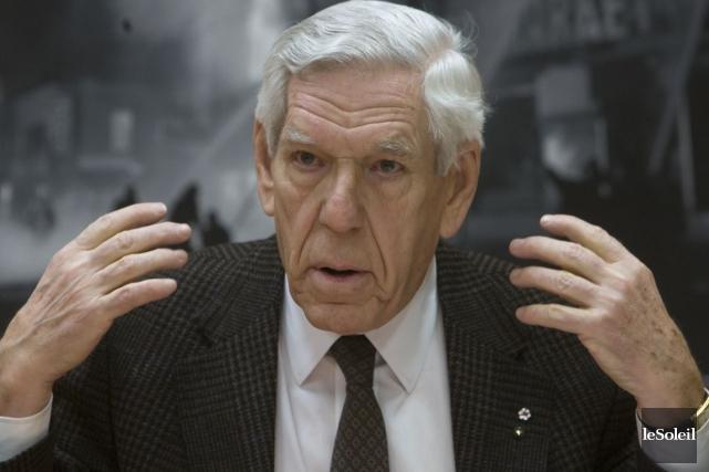 L'ancien ministre de la Santé Claude Castonguay.... (Photothèque Le Soleil)