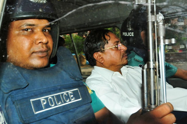 Mohammad Kamaruzzaman a été condamné pour crimes de guerre... (PHOTO ARCHIVES AFP/STR)