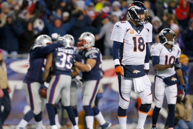 La fiche de Peyton Manning contre Tom Brady... (Photo David Butler II, USA Today Sports)
