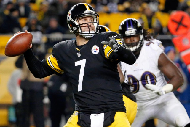 Les 12 passes de touché de Ben Roethlisberger... (Photo Gene Puskar, AP)